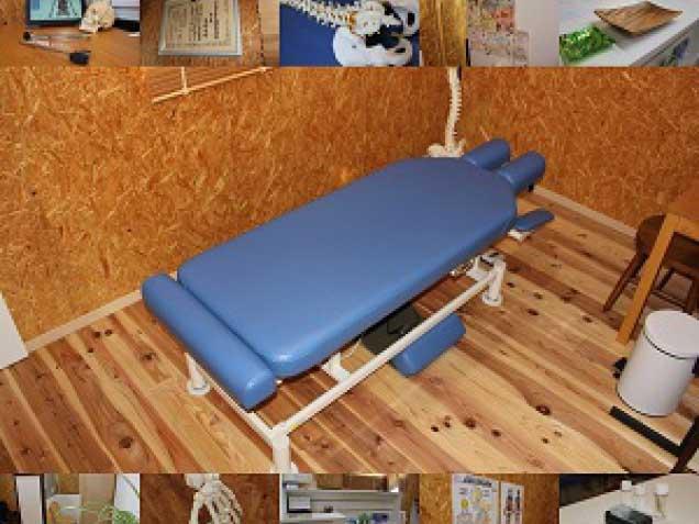 青山カイロプラクティック施術室の写真0