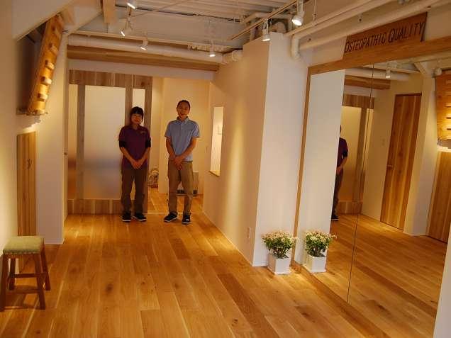 京都オステオパシーセンター オク治療室の写真3